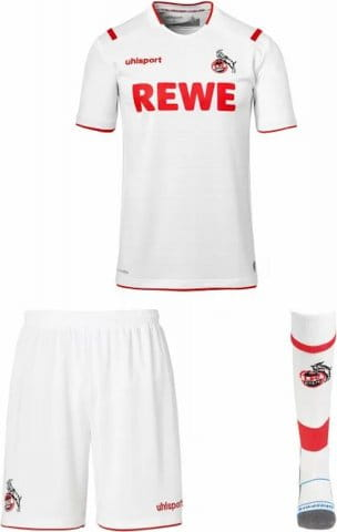Completi Uhlsport 1. FC Köln home JSY set 2019/2020