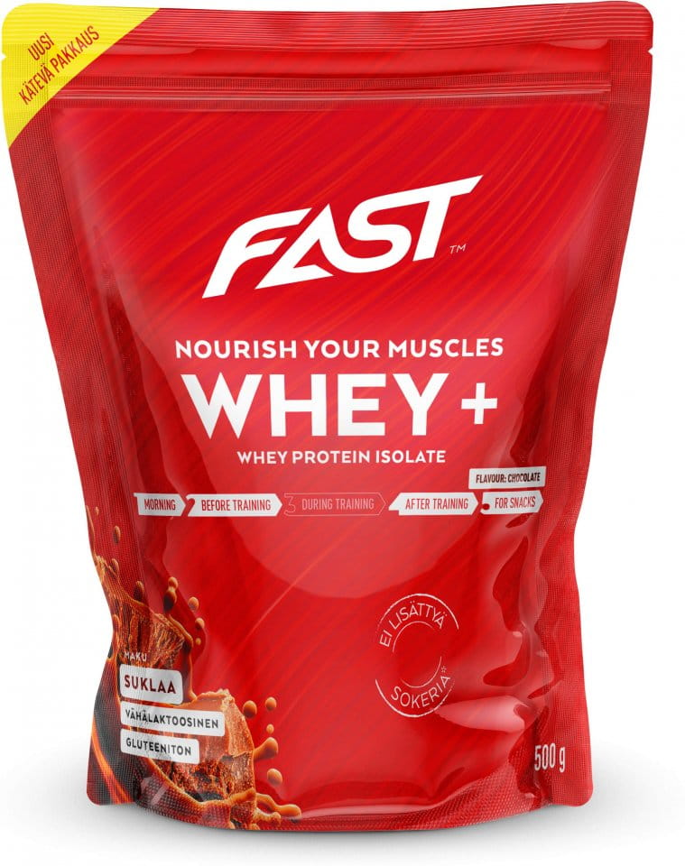 Pulver FAST Whey+ 500 g chocolate