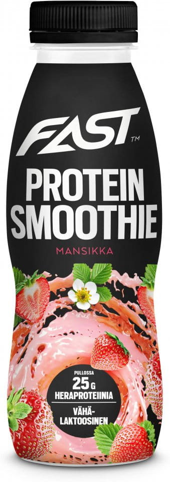 Bebida FAST Natural Protein Smoothie strawberry 330 ml