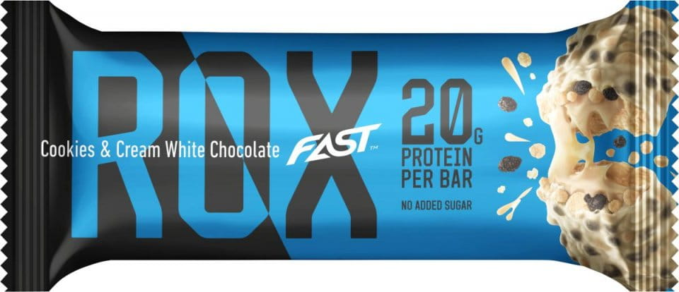 Riegel FAST FAST ROX 55g White chocolate and cookies & cream 55g