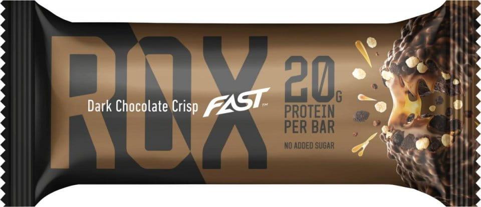 Proteinová tyčinka Fast Rox 55g Dark Chocolate Crisp