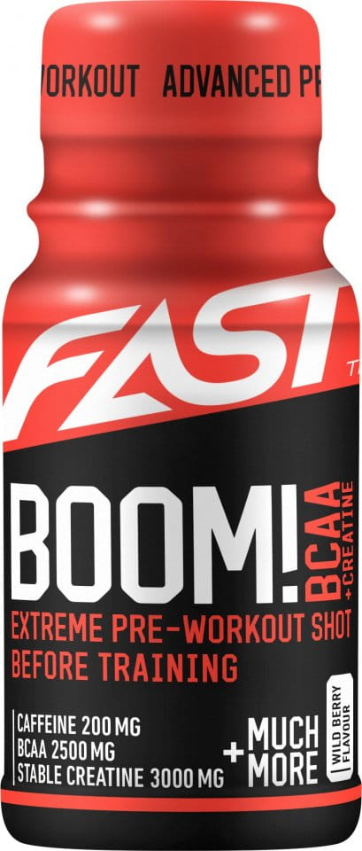 FAST Pre-workout A BCAA Shot Wild Berry - 60 ml