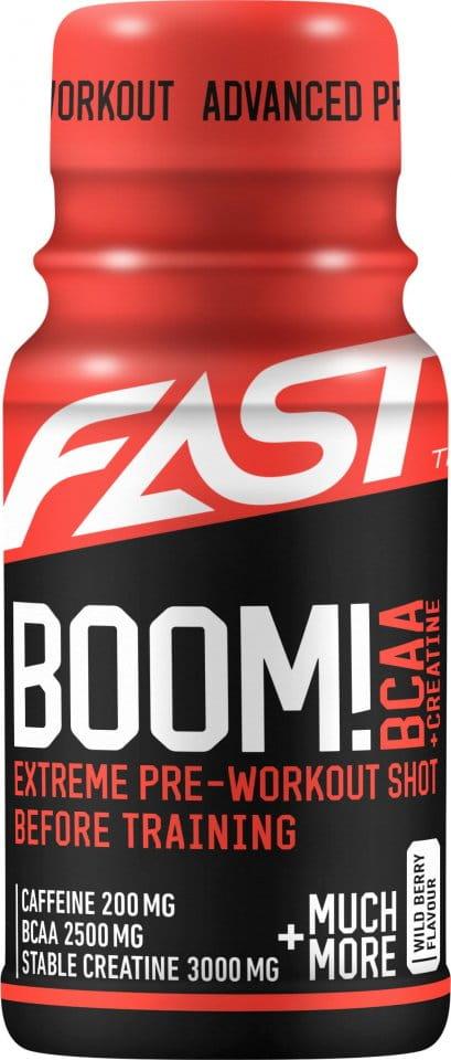 Piće FAST FAST Boom! BCAA 60 ml berries