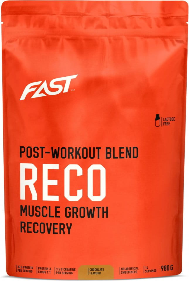 Boisson FAST FAST RECO CHOCOLATE 980g