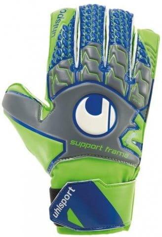 Goalkeeper's gloves Uhlsport tensiongreen s sf kids