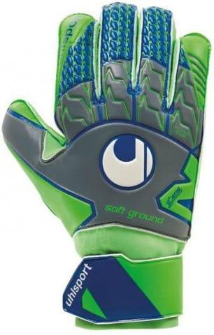 Goalkeeper's gloves Uhlsport soft pro f01