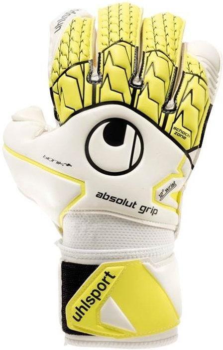 Brankářské rukavice Uhlsport absolutgrip bionik+ f01
