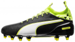 Kopačky Puma evoTOUCH 1 FG black-white-safety yellow