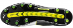Kopačky Puma evoTOUCH 1 FG black-white-safety yellow – 3