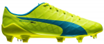 Kopačky Puma evoSPEED SL-S FG safety yellow-atomic bl