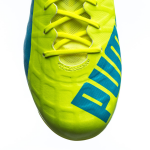 Kopačky Puma evoSPEED SL-S FG safety yellow-atomic bl – 7