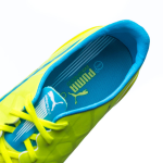 Kopačky Puma evoSPEED SL-S FG safety yellow-atomic bl – 8