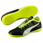 Kopačky Puma evoTOUCH 3 IT black-white-safety yellow