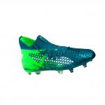 Football shoes Puma future 18.1 netfit fg/ag blau f04