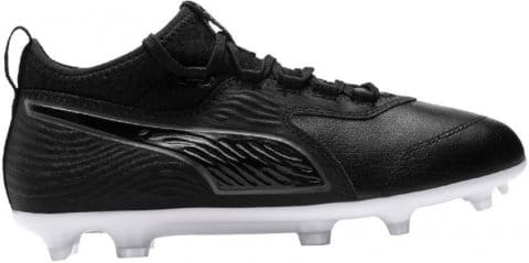 Puma ONE 19.3 leather FG/AG J Futballcipő