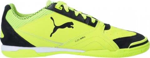 Indoor/court shoes Puma IBERO II Sala IT Halle Schwarz Gelb F02