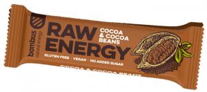 BOMBUS Raw energy - Cocoa beans50g