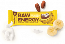 BOMBUS RAW ENERGY Banana&Coconut 50g