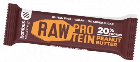 Sticks Bombus BOMBUS Raw protein-Peanut butter 50g