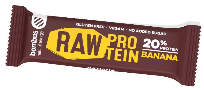 Sticks Bombus BOMBUS Raw protein - Banana 50g