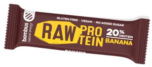 BOMBUS Raw protein - Banana 50g