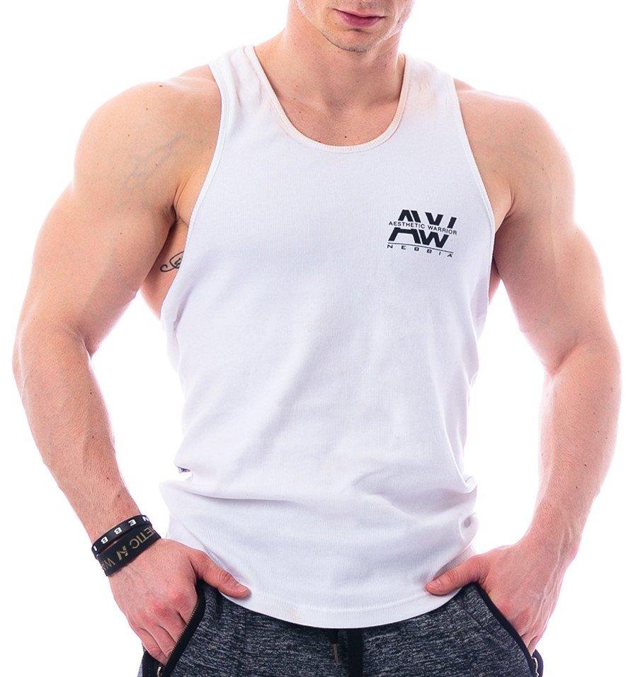 Pánské fitness tílko Nebbia AW Rib