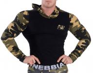 Pánská fitness bunda Nebbia Camo AW