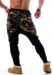 Pánské fitness tepláky Nebbia Camo AW