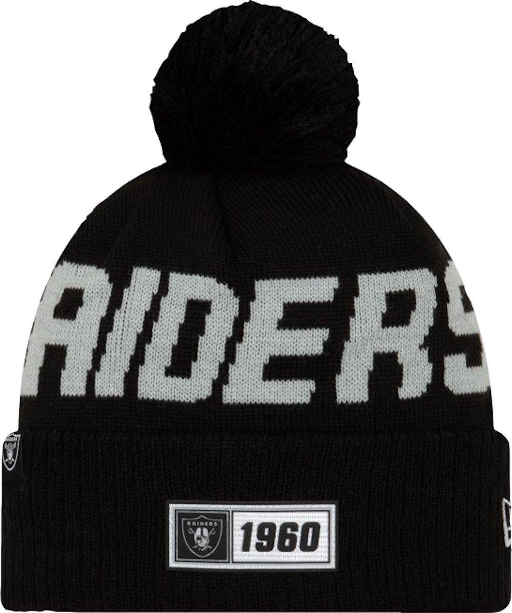 New Era Oakland Raiders RD Knit Cap Sapka