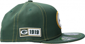 New Era NFL Green Bay Packers 9Fifty Cap Baseball sapka