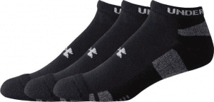 Under Armour HeatGear 3Pk No Show