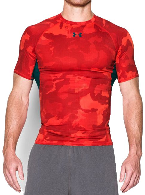 Kompresní triko Under Armour HG Printed
