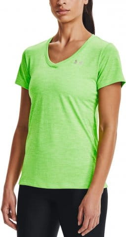 Tricou Under Armour Tech SSV - Twist-GRN