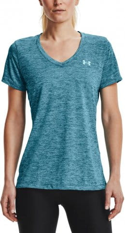 Tee-shirt Under Armour Tech SSV - Twist-BLU
