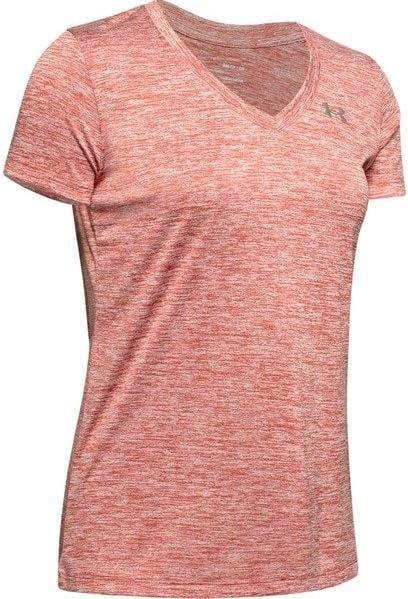 T-Shirt Under Armour Tech SSV - Twist-PNK