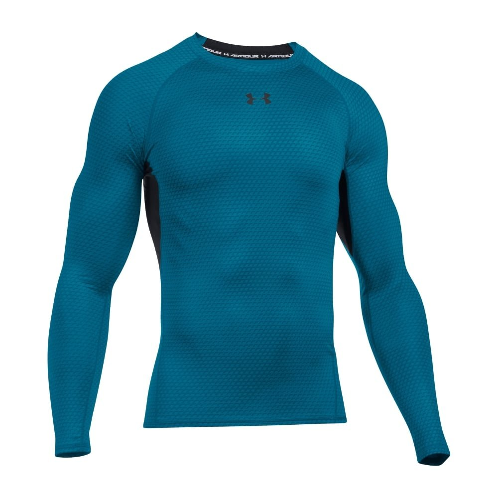 Compression t shirt under armour under armour armour hg ls for Under armour printed t shirts