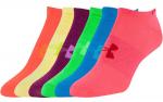 Ponožky Under Armour W Solid 6 Pks No Show