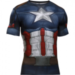 Kompresné tričko Under Armour Under Armour Captain America Suit SS – 1