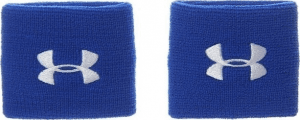 UA Performance Wristbands-BLU