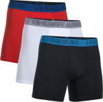 Boxeri Under Armour Cotton Stretch 6'' 3 Pack