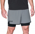 Šortky Under Armour UA QUALIFIER 2-IN-1 SHORT