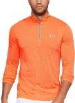 Pánské fitness tričko s dlouhým rukávem Under Armour Threadborne 1/4 Zip