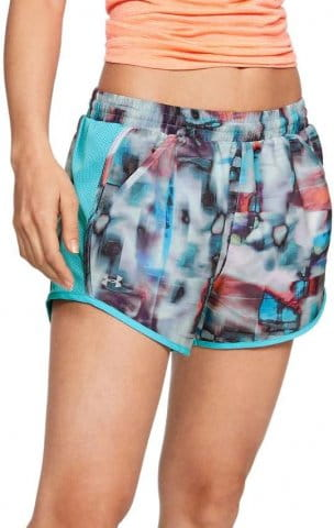 Pantalons courts Under Armour Fly By Printed Short