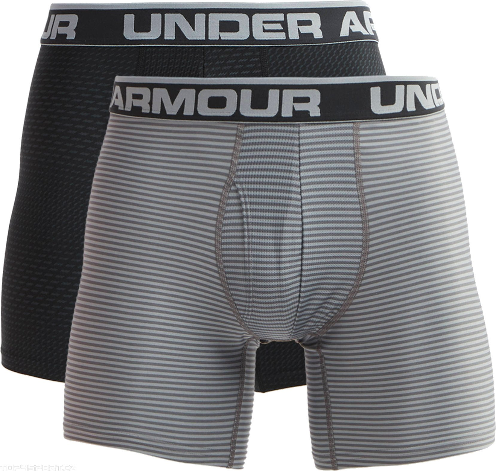 Calzoncillos bóxer Under Armour Original 6In 2 Pack Novelty