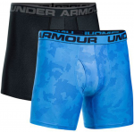 Boxerky Under Armour Original 6In 2 Pack Novelty