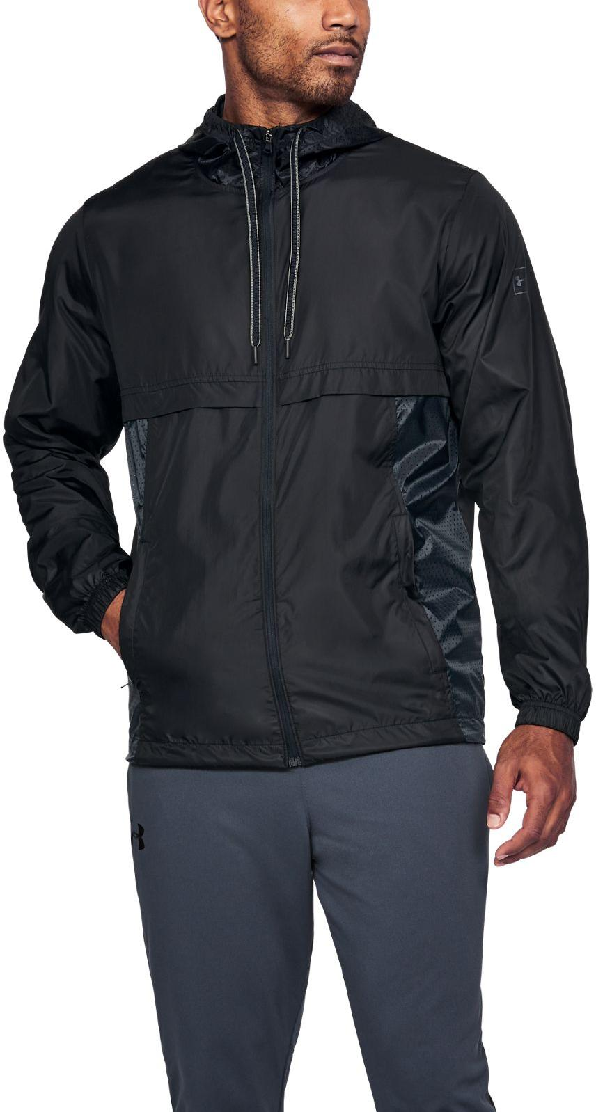 Pánská bunda s kapucí Under Armour Sportstyle Windbreaker