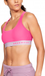 Armour Mid Crossback Bra-PNK