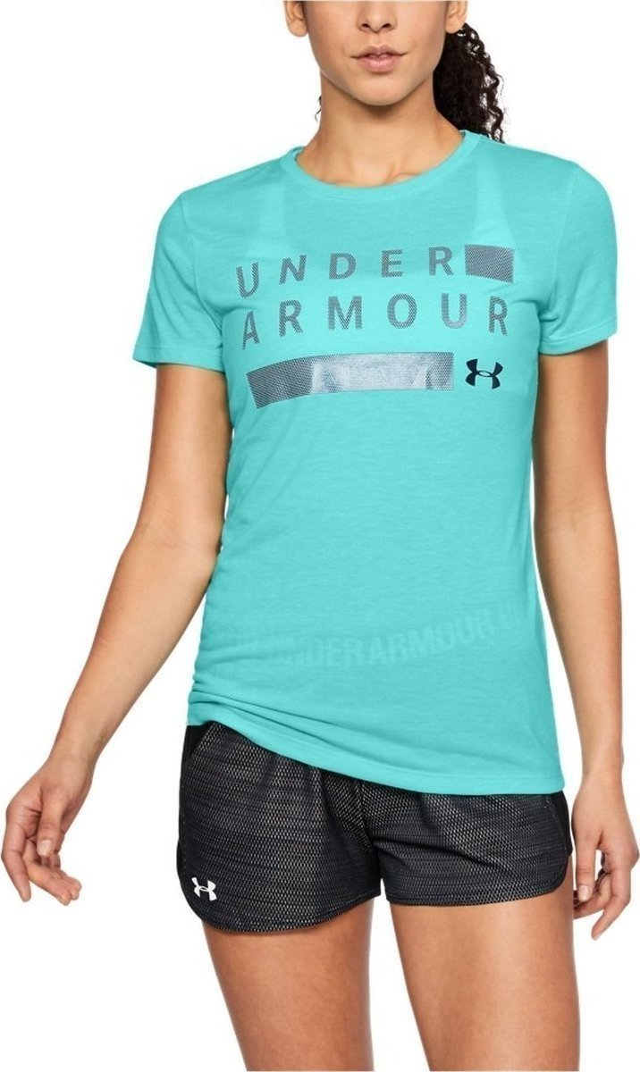 Dámské tričko s krátkým rukávem UA Threadborne Graphic Twist