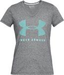 Dámské tričko s krátkým rukávem UA Threadborne Train Graphic SSV