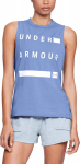Tílko Under Armour Graphic Muscle Tank Linear Wordmark